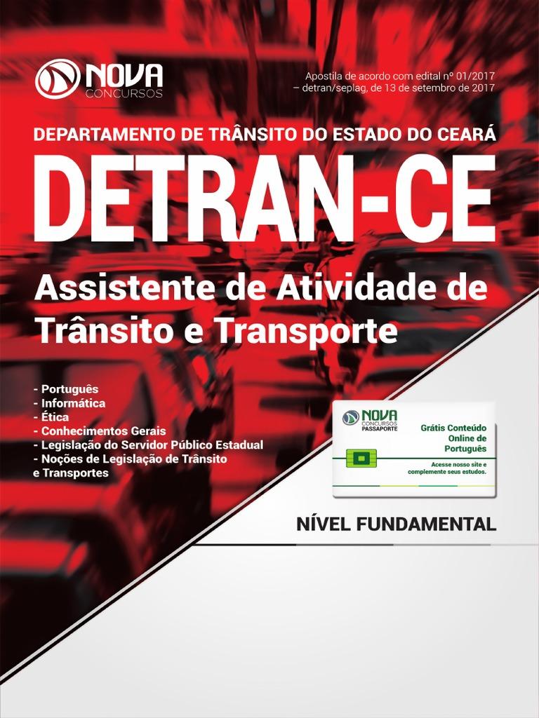 Apostila Detran Ce 29d371891e3e6