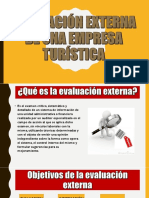 Evaluacion Externa de Una Empresa