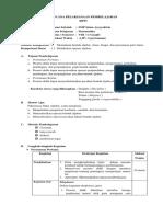 Rencana Pelaksanaan Pembelajaran Viii Semester 1