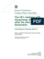 UK Report for HK 2015