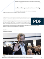Convocan a Una Marcha a Plaza de Mayo Para Pedir Justicia Por Santiago Maldonado - Télam - Agencia Nacional de Noticias