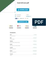 Good Old Neon PDF