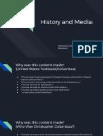 history and media- google form responses