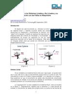 Introducción a Sistemas Lineales y No Lineales