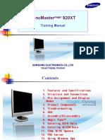 Samsung Syncmaster 920xt Ls19trtlb