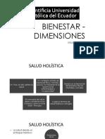 Presentación Bienestar - Dimensiones