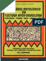 Dicionário  Antológico da  Cultura  Afrobrasileira