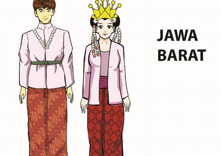 29+ Pakaian Adat Jawa Tengah Kartun