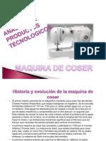 Maquina de Coser-trabajo