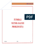 Tut1-Vector Analysis(Proplem Set1)