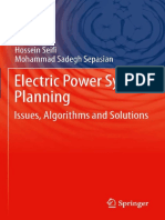 Electric Power System Planning Issues and Algorithms and Solutions.en.Es