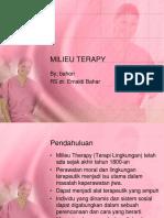 Milieu Terapy Jg