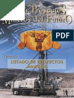Listado de Los Proyectos Mineros Cap2
