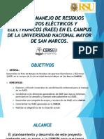 Plan de Manejo de Residuos Aparatos Eléctricos y Final