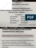 Kel 3 - School Efectivness Lengkap Translate
