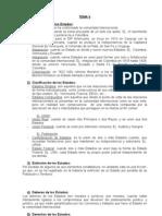 Derecho Internacional  tema 5
