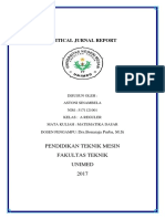 CRITICAL BOOK REPORT MATEEMATIKA ,,,,,ASTONI SINAMBELA