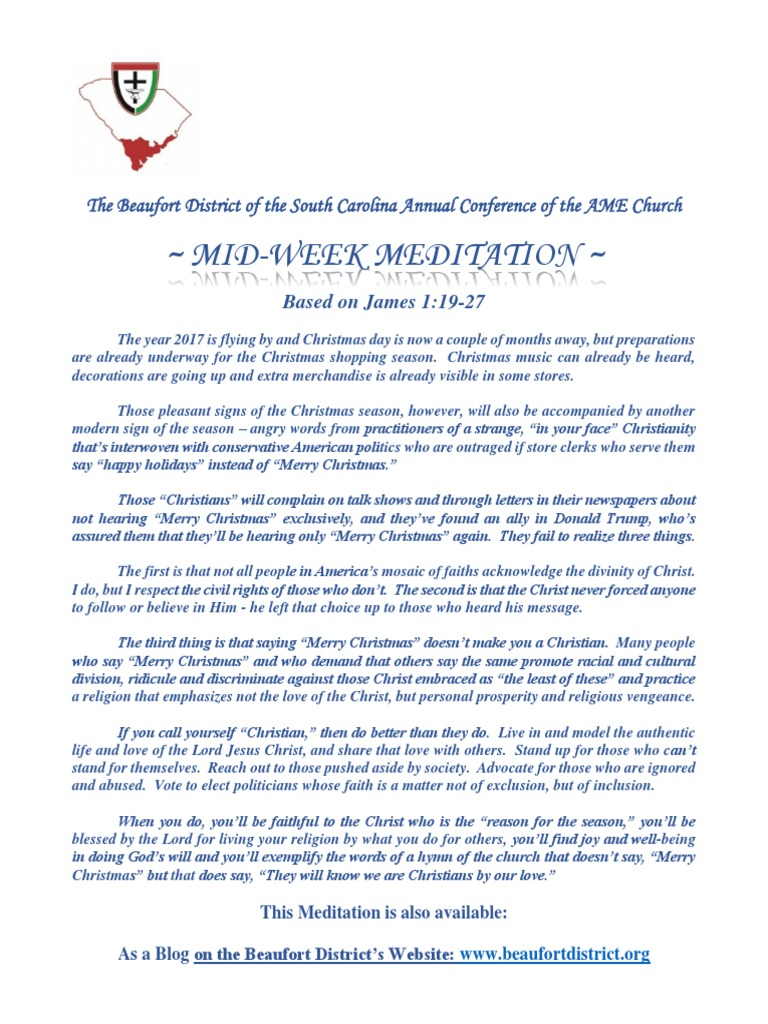 The beaufort district mid week meditation for november 1 2017 the beaufort district mid week meditation for november 1 2017 christmas and holiday season christmas solutioingenieria Image collections