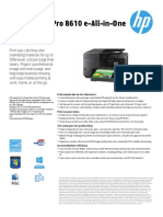 HP Officejet Pro 8610 EAiO Printer