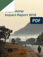 Triple Jump Impact Report 2016