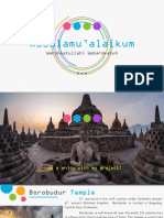 """Historical Building Borobudur"""