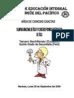 Columnas Vi Concurso Intercolegial de Física Prueba 2009-2010