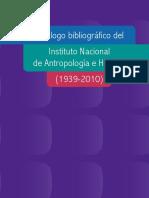 Catalogo Inah 1939 2010