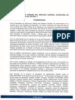 Acuerdo POE002