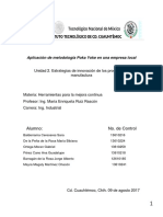 Investigación Sobre Meodologia Pokayoke en Cardinal Health