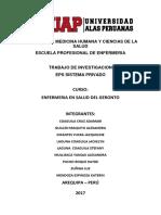 Eps Sistema Privado Enfermeria en Salud Del Geronto Final
