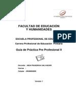 X CICLO Guia de Practica Pre Profes Primaria