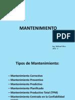 Presentation Mantenimiento Preliminar1R2013
