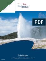 GA Safe Return Product Brochure