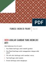 Fungsi Ikon Di Paint