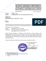 Surat Pengalihan Arus Lalin SBM 2017