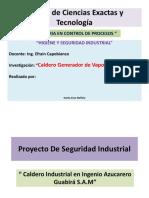 Seguridad Industrial - Calderos