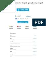 Google Sketchup for Interior Design Amp Space Planning Free PDF