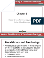 Chapter 8 Blood Group Terminology and the Other Blood Groups