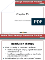 Chapter 15 Transfusion Therapy