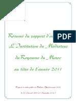 Rapport 2011 Fr