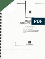 Manual de Evaluación Educativa