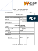 Sodium Gluconate Retarder Msds
