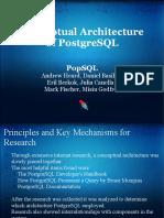 Conceptual Architecture of Postgresql