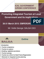 Promoting Integrated Tourism Planning at Local Government and Its Implications