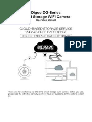 DIGOO DG-Series User Manual  pdf | Qr Code | Wi Fi