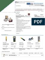 Phenix 650-2P Portable AC Dielectric Test Set Phenix 6502P 650 2P 650-2P _ TEquipment