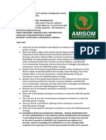 AMISOM reviews its gender strategy plan ahead of the planned drawdown