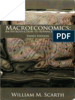 Macroeconomics, An Introduction to Advanced Methods by William M. Scarth