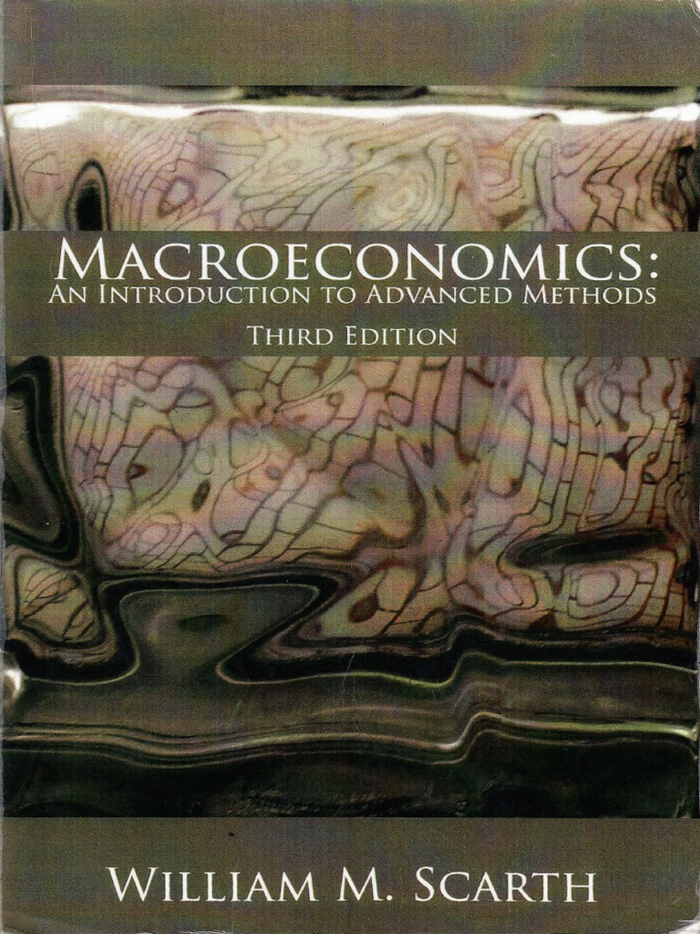 Macroeconomics An Introduction to Advanced Methods by
