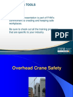 Over Head Crane Safety FHM COVER